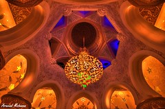 Architecture-Lights (Aravind Mohanan) Tags: lights architecture night interior dome walls ceiling vibrant colors shadows symmetry wideangle wide pov beauty leading edge art grand mosque abudhabi uae long exposure