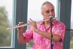 P De Jurema (2016) 09 (KM's Live Music shots) Tags: worldmusic brazil maracatu ciranda forr pdejurema concertflute flute festivalofbrasil hornimanmuseum