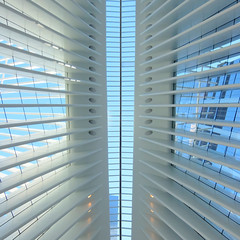 World Trade Center Train Station (mydogripley) Tags: wtc world trade center santiago calatrava white concrete glass