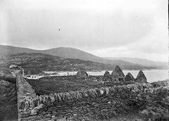 Church (Ruins), Waterville, Co. Kerry (National Library of Ireland on The Commons) Tags: eason easonson easoncollection easonphotographiccollection glassnegative 20thcentury nationallibraryofireland ireland kerry munster stfinian church ruins waterville ahamore abbey possiblecataloguecorrection locationidentified derrynaneabbey derrynane oconnell caherdaniel countykerry