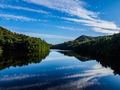 PhoTones Works #8147 (TAKUMA KIMURA) Tags: photones olympus air a01 takuma kimura   nature natural landscape lake mountain sky