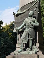 Ruse- War Memorial (Peter Ashton aka peamasher) Tags: bulgaria statue memorial monument art sculpture war