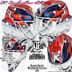 DC Dedication - EVO (DAVEART MaskGallery) Tags: holtby washington capitals nhl daveart