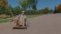 Jacob Croghan fall colors (Codydownhill) Tags: skateboard skateboarding longboard longboarding downhill sports action panasonic lumix style urban