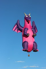 hot air dragon (Karol Franks) Tags: albuquerque balloon fiesta newmexico 2016 adventure specialshape soaring colors dragon sky ride escape large canon usa america colorful vertical scorch keithsproul nm2016 abq