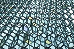 Rmfri (Karsten Fatur) Tags: architecture glass modern modernart geometry geometric blue iceland reykjavik harpa landscape building shape shapes perspective angles europe travel adventure explore