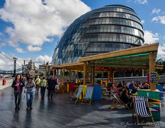 London City Hall (Juakifoto) Tags: granbretaa greatbritain inglaterra london londres reinounido uk england cityhall ayuntamiento hamacas