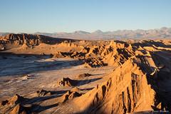 Valle de La Luna al entardecer (Gabriel Bonini Silvestre) Tags: atacama chile desertodoatacama sanpedrodeatacama valledelaluna