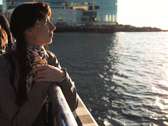 P9290686-2 (Polina Alaska) Tags: vladivostok   fareast  olympus girl beautifulgirl   sunset profile sideview