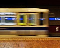 Central Station (Laurence's Pictures) Tags: edmonton alberta downtown canada buildings city centre subway light rail vehicle lrv public transit trolley tram commuter rapid urban