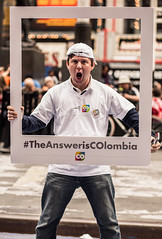 #TheAnswerisColombia (@BrunodeOliveiraPhotography) Tags: park street new york bridge brazil usa ny building st brasil brooklyn canon john underground subway square de photography 50mm cathedral state uv central broadway 85mm ground divine empire times grip avenue 5th zero bruno 1740mm flatiron campos horizonte hoya belo t3i 6d oliveira