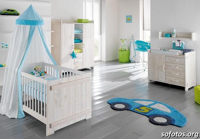 quarto de bebê tapete carro
