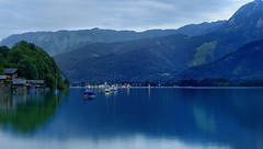 Wolfgangsee, Austria (Alan Dreamworks) Tags: summer mountain lake reflection heritage austria village resort unesco wolfgangsee   salzkammergut stgilgen  hallstatt stwolfgang     alandreamworks