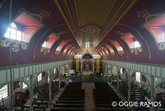 Culion - Immaculada Concepcion Church Inside from the Loft (lagal[og]) Tags: nikon philippines simbahan palawan culion lagalog oggieramos laimmaculadaconcepcionchurch