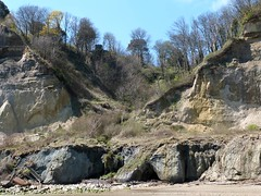 Luccombe Chine,  Isle of Wight (BOB@ wootton) Tags: sea castle beach steps cliffs erosion boulders coastal isle wight chine bonchurch iow luccombe