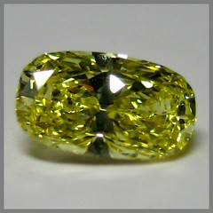 Natural Fancy Yellow Diamond, GGL oval, N14-53/4, 0.54 ct () Tags: diamond brilliant oval ggl naturalcolor yellowdiamond fancycolordiamond naturaldiamond naturalfancycolordiamond