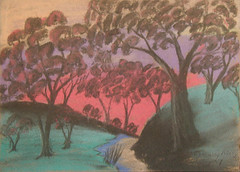 Gregory Kelly The High Bank, ca. 1949 (colgateuniversity) Tags: university australian curtin colgateuniversity noongar
