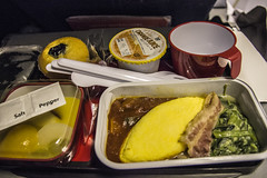 QF22 Qantas Flight Meal (JohnnieShene) Tags: canon eos rebel inflight meals flight sigma airline meal airways airlines qantas 1770 t3i 284 600d 1770mm f284 qf22