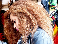profile of a girl with curls (e) Tags: feest portrait colors festival female model women belgium femme profile boom retratos portraiture portret ritratti meisje profiel bildnis cherchezlafemme manomundo