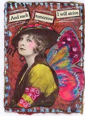 i will strive (eggstudio) Tags: art collage altered paper alteredart greer eggstudio