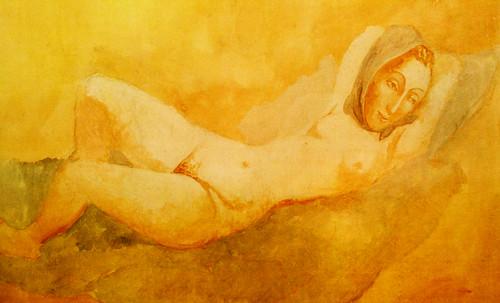 "Majas, homenajes de Francisco de Goya y Lucientes (1802), Eugéne Delacroix (1826), Amadeo Modigliani (1916), Pablo Picasso (1906), (1931), (1959), (1964). • <a style=""font-size:0.8em;"" href=""http://www.flickr.com/photos/30735181@N00/8747974376/"" target=""_blank"">View on Flickr</a>"