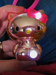 Hello Kitty Sparkle & Glow Charmlite (Jay Tilston) Tags: hello light gold golden glow kitty charm figure