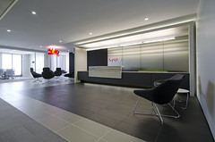 Saputo Reception 1 (interprisedesign) Tags: modern design office interior lobby business signage interiordesign conferenceroom receptionarea saputo interprise