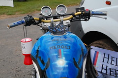 Help for Heroes Suzuki Bandit 600c #2 (Jamesedwardskk) Tags: for motorbike help motorcycle british heroes suzuki bandit peterborough bmf federation 600c