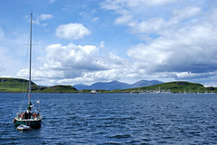 Kerrera and Mull (Grisley Two at Ipernity now) Tags: marina yacht sound oban kerrera