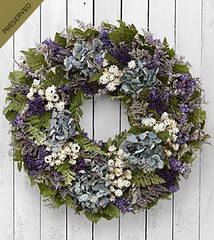 FTD Endless Skies Dried & Preserved Wreath (dobdeals.com) Tags: flowers wreaths eventsupplies