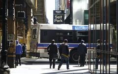 Chicago, 2013 (gregorywass) Tags: street city chicago bus downtown cta sidewalk transit