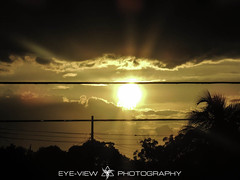 DSCN1868 (Eye-View Photography) Tags: trees sunset sky 6 sun black yellow clouds point gold lowlight nikon focus explore jamaica effect eyeview flickin flickraward