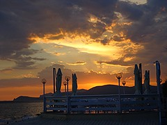 TRAMONTO A SPERLONGA (Latina) (cannuccia) Tags: sunset landscape nuvole tramonti 1001nights paesaggi lazio sperlonga cieli theunforgettablepictures fabuleuse 1001nightsmagiccity virgiliocompany