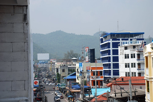 View from hotel, Hua Hin 2