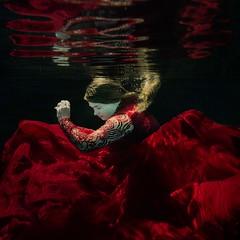 Phoenix (tswarek) Tags: arkansas art beautiful concept conceptual death eldorado fashion fineart floating girl inspiration laken life loomis phoenix photography portrait rebirth red submerged swarek tammy tammyswarek teenager under underwater water young