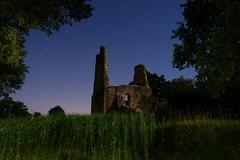 Chteau de montfalcon (labeanch) Tags: night nuit etoiles stars ruine chteau montfalcon sony longueexposition lightpainting isre