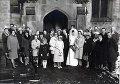 June Hope & David Else - 1968 (Winster, Derbyshire) Tags: wedding winster hope else woolley bateman barnsley roper vincent