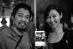 Hong & Yuki (Ian Muttoo) Tags: dsc69591edit x16 microsoft xbox toronto ontario canada gimp ufraw bw xboxone distillery distillerydistrict thefermentingcellar gameshowcase