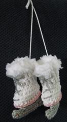 schaatsjes (hvanzuijlekom) Tags: gehaakt crochet knuffels katoen acryl schaatjes wintersneeuw