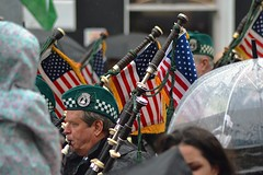 Pipes of Jersey Shore (Michael C. Hall) Tags: roseoftralee kerry ireland festival tralee street band pipes bagpipes