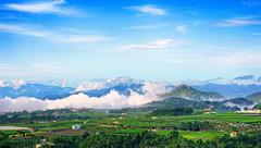 (M.K. Design) Tags: taiwan nantou county puli township green planet fog clouds nature hdr scenery landscapes hometown farm agriculture tele primelens nikon d800e afs 105mmf14e ed nikkor bluesky mountains 2016