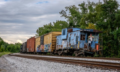 Local. (Mr. Pick) Tags: caboose csx local murfreesboro tn tennessee rutherford