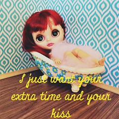 BAD August 22.  Pretty Woman. (earthchilde27) Tags: bathroom roombox prettywoman bubbles vintage bathtub ginger blythe custom