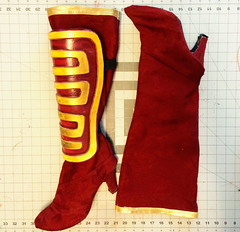 Boots8 (Kristin Brenemen) Tags: costume cosplay boot tutorial bootcovers sewing red hannah wyldkysscostumes