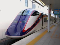 Yamagata Shinkansen @Yamagata Station (hyas_private) Tags: japan tohoku yamagata yamagatashinkansen shinkansen yamagatastation e3 e3series jr jreast station        huawei nexus6p