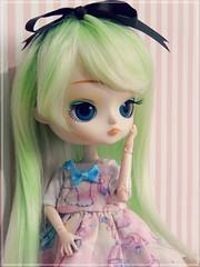 Ploy  (Pliash) Tags: dal doll cute kawaii cinnamoroll groove green hair loli lolita girl