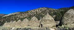 Wildrose Canyon charcoal kilns #12 (jimsawthat) Tags: sky desert mojavedesert rural california stone historic charcoalkilns mountains panamintmountains deathvalleynationalpark