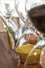 Like sand through the hourglass . . . (mclcbooks) Tags: hourglass hourglasses time sand guilford connecticut