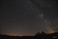 La Notte di San Lorenzo (Davide'70) Tags: italia trentinoaltoadige cielo notte stelle vialattea cimatrescarperi dolomiti agosto lungaesposizione infinito cosmo universo galassia emozione meraviglia