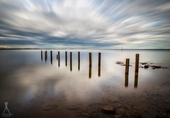 THE END (Laws Photography | www.lawsphotography.com) Tags: longexposure longshutterexposure longexposurecolour long jetty pilings reflection reflections color colour rocks old rustic clouds seascape sky landscape lawsphotography vaughanlaws vaughanlawsphotography nd10stop neutraldensityfilter ndfilter canon6d canon ocean outdoor melbourne le inexplore explored explore